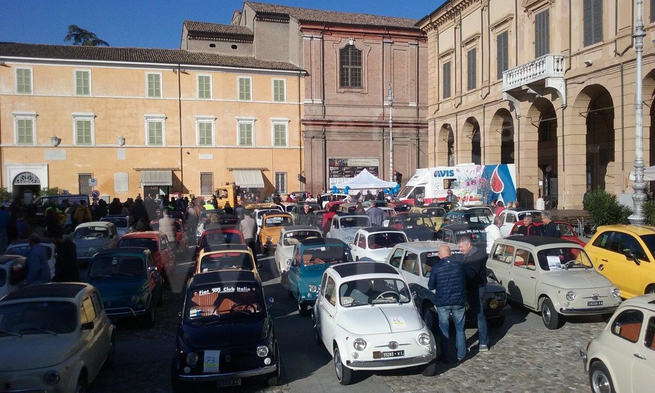 Nozze d'argento per il raduno delle mitiche Fiat 500 di Bagnacavallo - Ravennawebtv.it