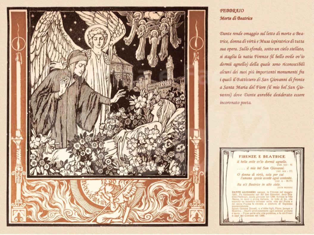 Dedicato a Dante il calendario artistico 2021 promosso da Cassa e
