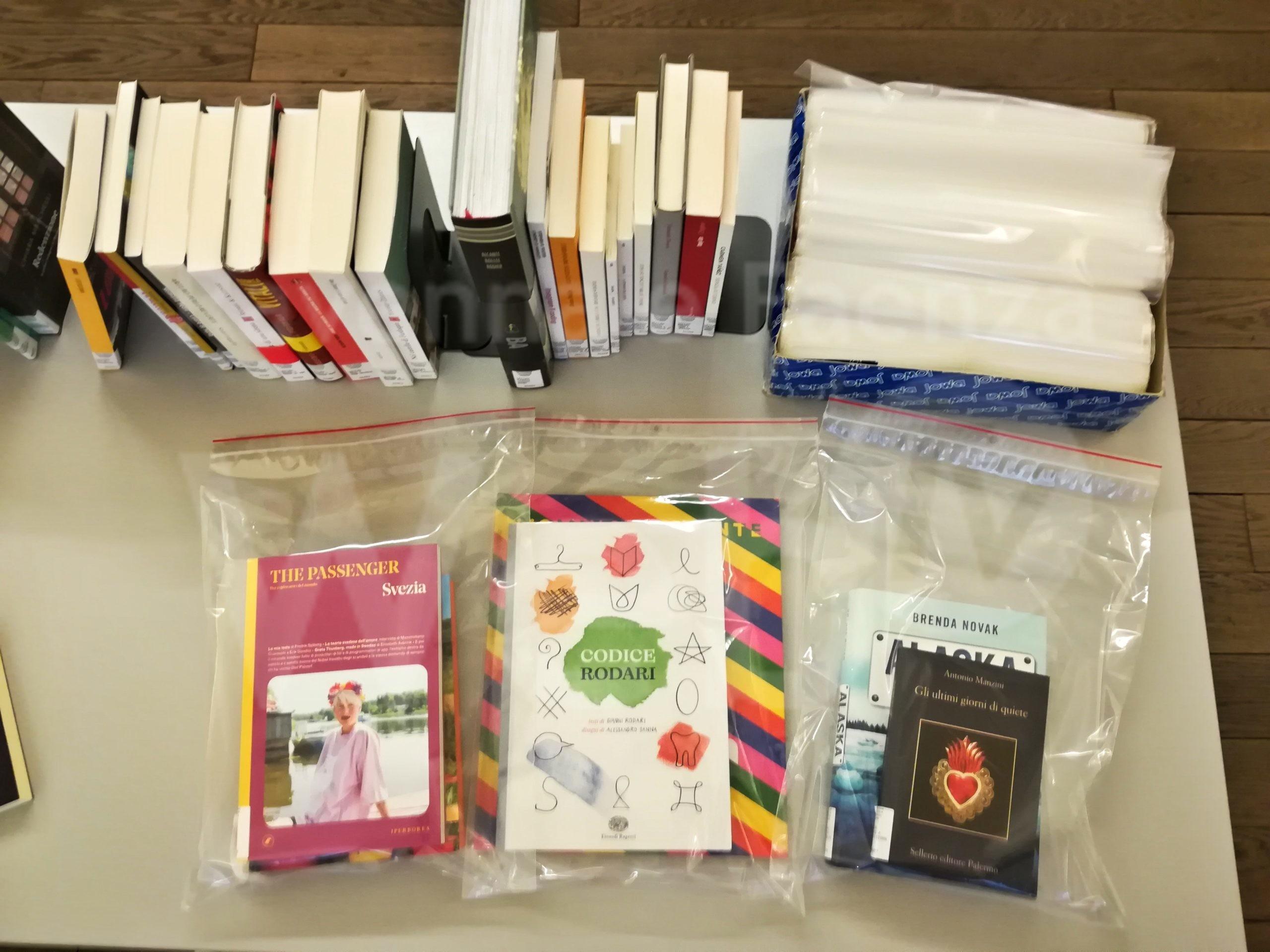 Le biblioteche comunali di Firenze fanno prestito a domicilio e da asporto